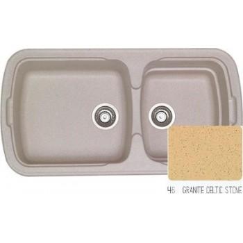 Sanitec Classic 305 Granite Celtic Stone Νεροχύτης