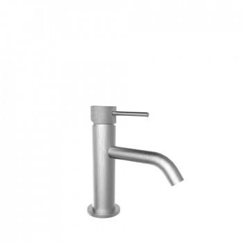 Armando Vicario Industrial 512010 Inox Μπαταρία Νιπτήρος με Βαλβίδα clic-clac