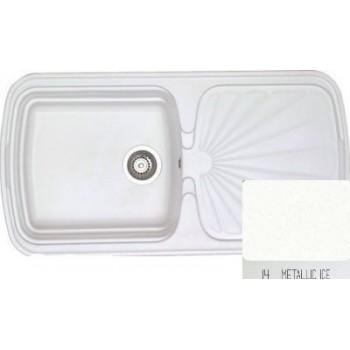Sanitec Classic 306 Metallic Ice Νεροχύτης