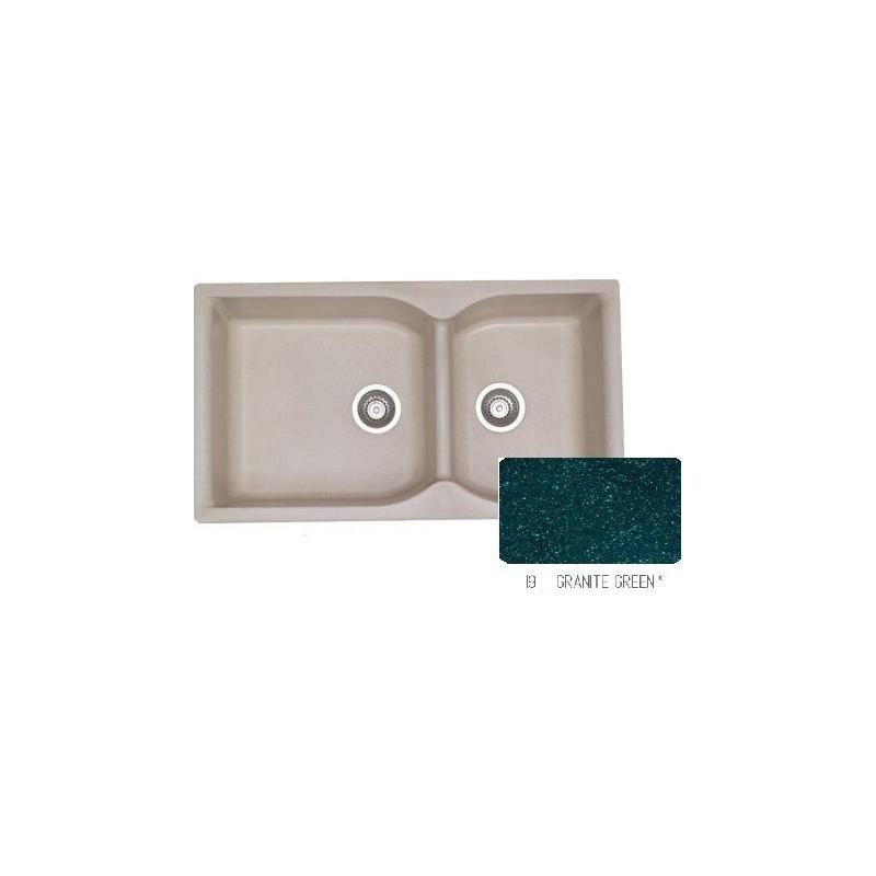 Sanitec Classic 307 Granite Green Νεροχύτης