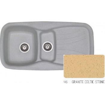 Sanitec Classic 309 Granite Celtic Stone Νεροχύτης