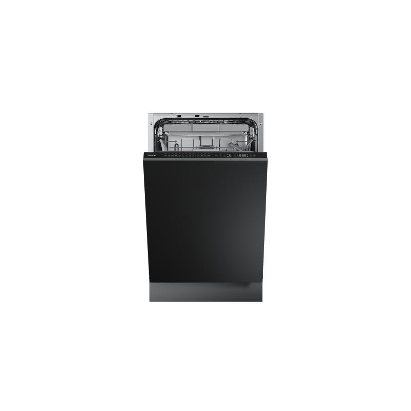 Teka DFI 74950 Black Πλυντήριο Πιάτων Εντοιχιζόμενο 45cm