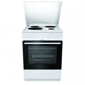 Gorenje E6151WPM-729250 Λευκή Κουζίνα Ηλεκτρική 71Lt 85x60x60cm με 9 προγράμματα λειτουργίας