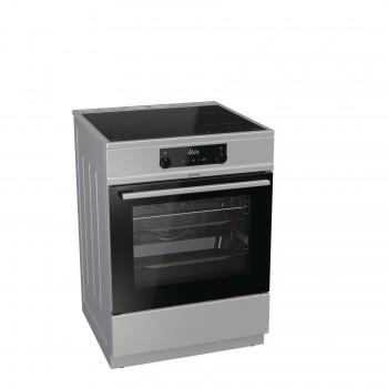 Gorenje EIT6355XPD-736019 Inox Κουζίνα Επαγωγική  71Lt 85x60x60cm με 11 προγράμματα λειτουργίας