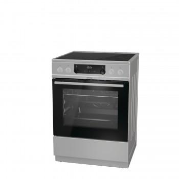 Gorenje ECS6350XPA-739093 Inox Κουζίνα Κεραμική 71Lt 85x60x60 cm με 11 προγράμματα λειτουργίας