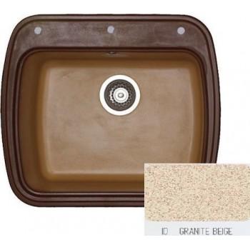 Sanitec Classic 313 Granite Beige Νεροχύτης