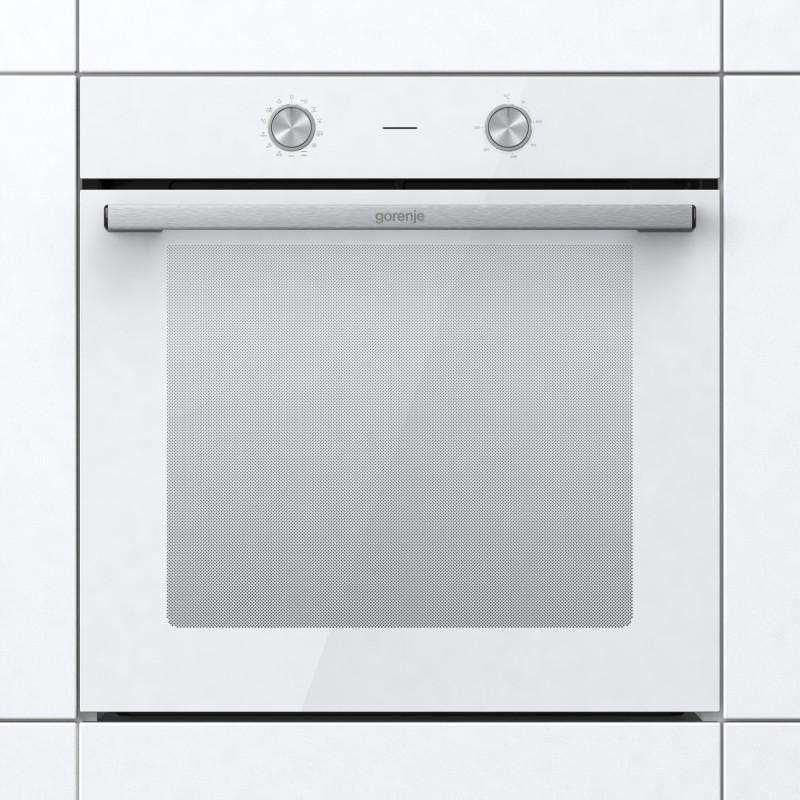 Gorenje BO6717E02WG-738372 Φούρνος Eντοιχιζόμενος Ηλεκτρικός Με Λειτουργία Ατμού Λευκός 77Lt ,60 cm
