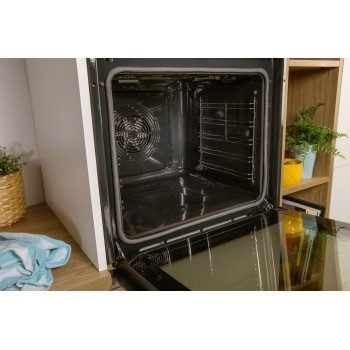 Gorenje BPSX6737E13BG-738567 Φούρνος Eντοιχιζόμενος Πυρολυτικός Ηλεκτρικός Με Λειτουργία Ατμού Μαύρος Pyro 77Lt ,60 cm