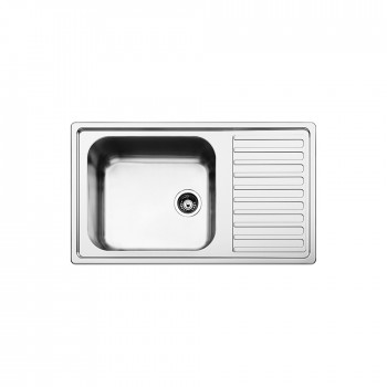 Apell Anniversario 8110 Ανοξείδωτος Σαγρέ Νεροχύτης 86X50 cm