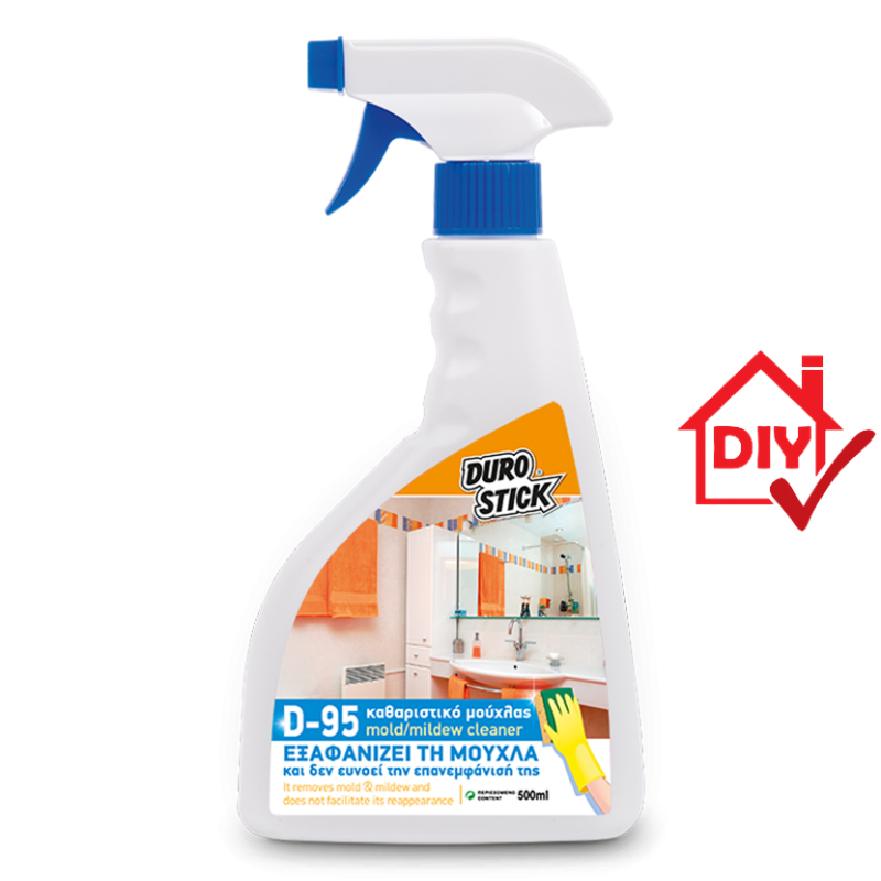 Durostick D-95 Cleaner Καθαριστικό Υγρό Για Μούχλα 500ml