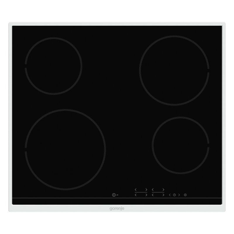 Gorenje ECT641BX-730604 Εστία Κεραμική Με Ανοξείδωτο Πλαίσιο Μαύρη Με 4 Εστίες 60,0 cm