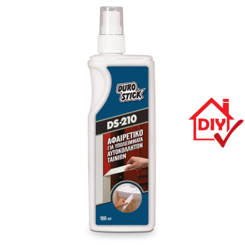 Durostick DS-210 Καθαριστικό Υπολειμμάτων Κόλλας Από Αυτοκόλλητες Ταινίες 180ml