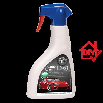 Durostick Bioclean D-63 Βιοδιασπώμενο Καθαριστικό Για Περιττώματα Πουλιών & Έντομα 500ml