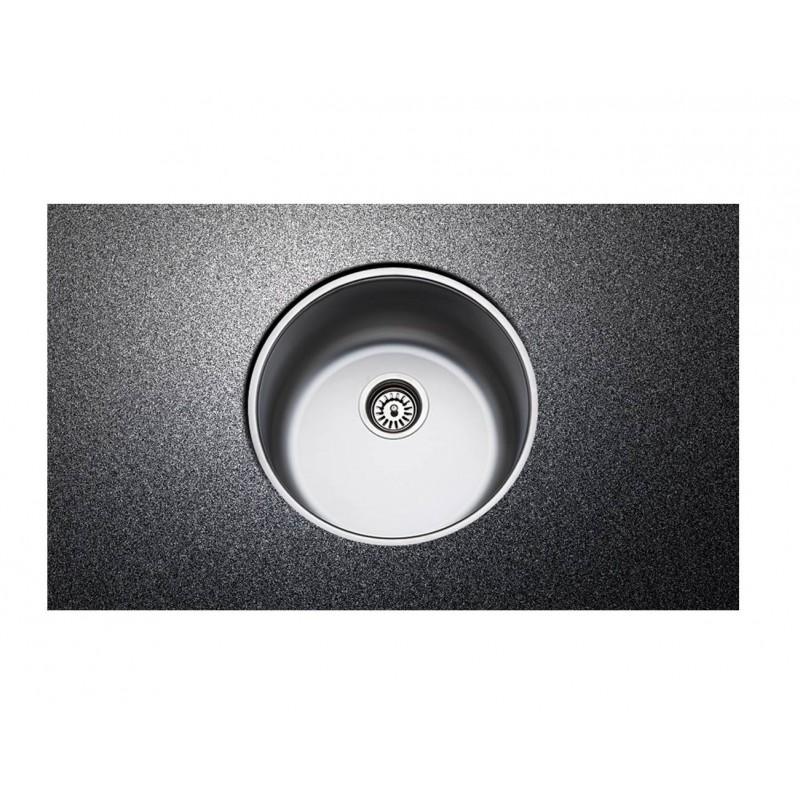Fortinox Valley 28900 Inox Λείος Υποκαθήμενος Νεροχύτης Φ 43,5 cm