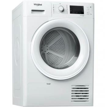 Whirlpool FT M22 9X2 EU Λευκό Στεγνωτήριο Ρούχων με Αντλία Θερμότητας 9  Κιλών