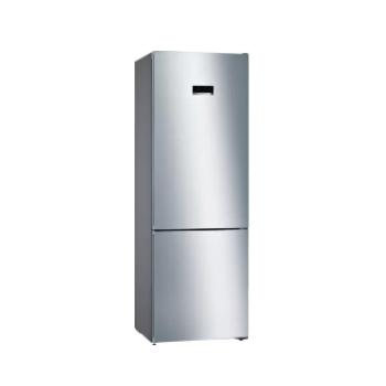 Bosch KGN49MIEC Inox Ελεύθερος Ψυγειοκαταψύκτης 438 Lt