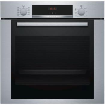 Bosch HBA334YS0 Inox Εντοιχιζόμενος Φούρνος Άνω Πάγκου