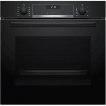 Bosch HBG5370B0 Μαύρος Εντοιχιζόμενος Φούρνος Άνω Πάγκου
