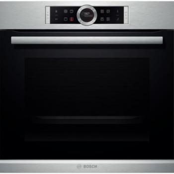 Bosch HBG655BS1 Inox Εντοιχιζόμενος Φούρνος Άνω Πάγκου