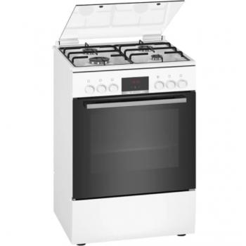 Bosch HXN390D20L Λευκή Μικτή Κουζίνα με Εστίες Αερίου