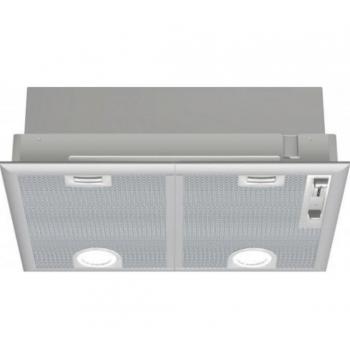 Bosch DHL555BL Silver Metallic Μηχανισμός Απορρόφησης 53 cm