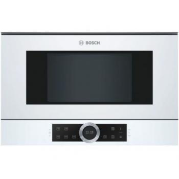 Bosch BFL634GW1 Λευκός Εντοιχιζόμενος Φούρνος Μικροκυμάτων 21 Lt