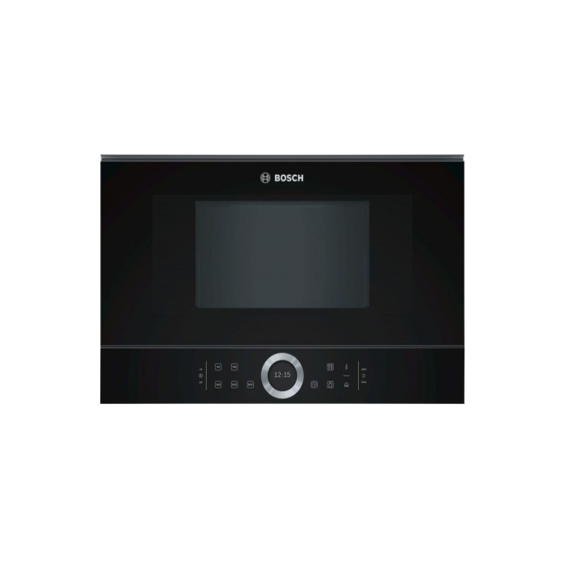 Bosch BFL634GB1 Μαύρος Εντοιχιζόμενος Φούρνος Μικροκυμάτων 21 Lt