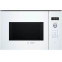 Bosch BEL554MW0 Λευκός Εντοιχιζόμενος Φούρνος Μικροκυμάτων Grill 25 Lt