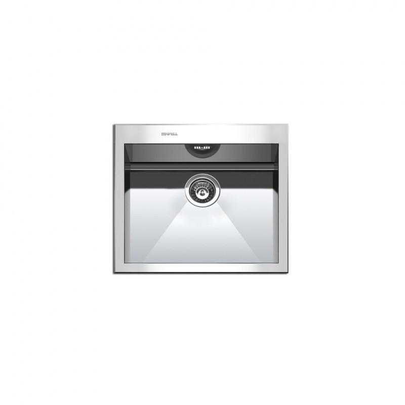 Apell Amalthea 9660 57x50 cm Inox Λείος Ένθετος Νεροχύτης