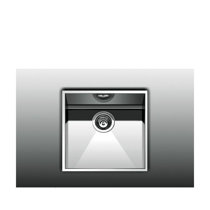 Apell Amalthea 7440 42x41,8 cm Inox Λείος Υποκαθήμενος Νεροχύτης