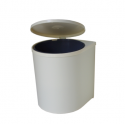 Gollinucci 32250003 Πλαστικό Δοχείο Απορριμμάτων Με Σχοινάκι PN 12 Lt