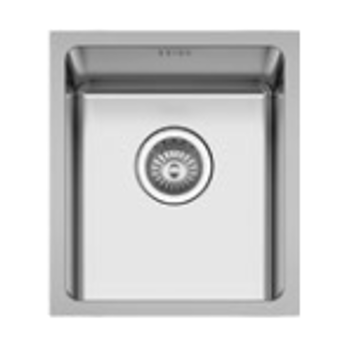 Geman 33150059 Ανοξείδωτος Υποκαθήμενος Νεροχύτης 38 cm