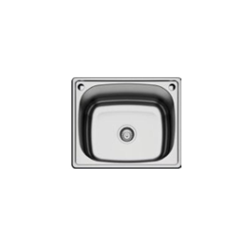 Geman 33150071 Ανοξείδωτος Ένθετος Νεροχύτης 60 cm