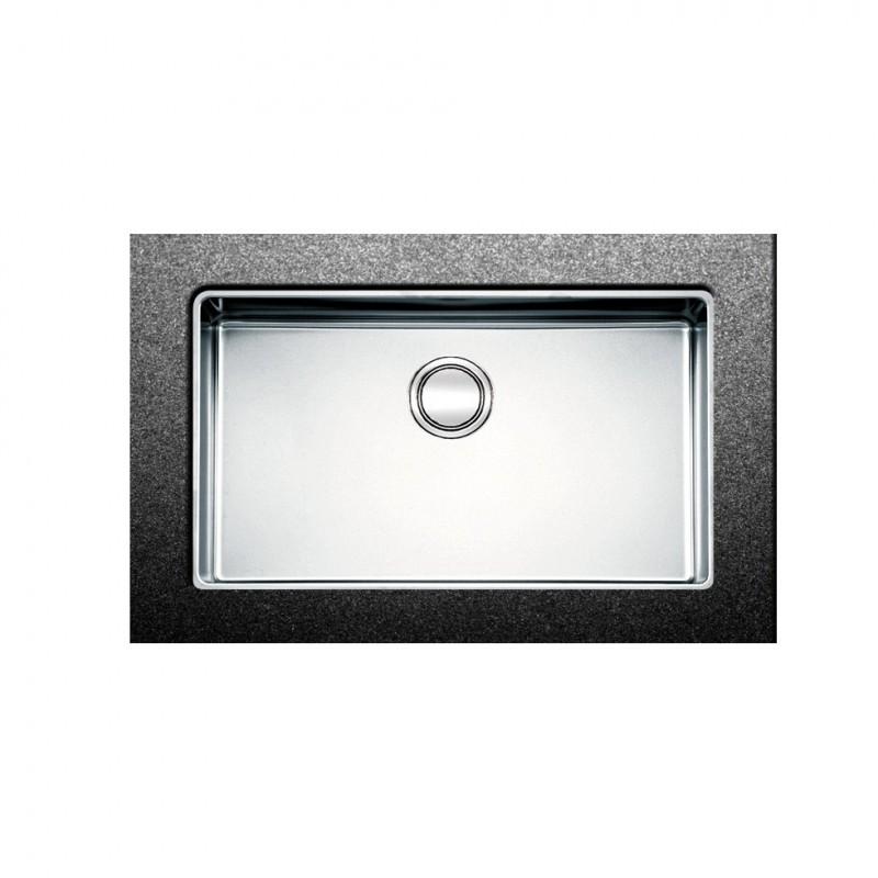 Apell Linear Plus FEM71 75x44 cm Inox Λείος Υποκαθήμενος Νεροχύτης