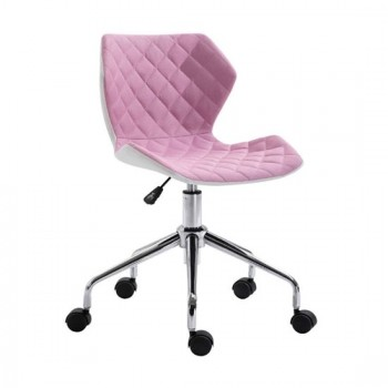 Καθίσματα Γραφείου BS1700 Χρώμιο/Poz Ύφασμα Καρέκλα Γραφείου