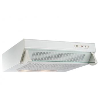 Geman 31100090 Λευκός Απλός Απορροφητήρας Με 2 Μοτέρ 60 cm