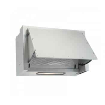 Geman 31100093 Λευκός Πτυσσόμενος Απορροφητήρας Με 1 Μοτέρ 60 cm