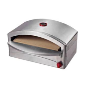 Μαρμούρης 31300009 Inox Φορητό Φουρνάκι Υγραερίου Για Πίτσα