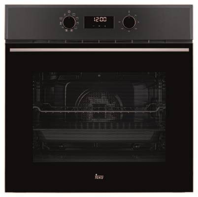 Teka HSB 630 Wish Multifunction Hydroclean Pro Μαύρος Φούρνος 60cm