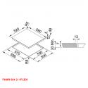 Franke FHMR 604 2I 1FLEXI Επαγωγική Εστία 60cm