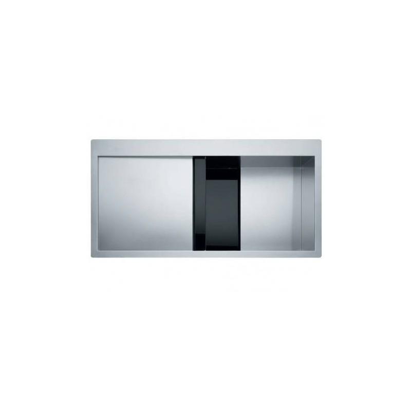 Franke Crystal Line CLV 214 Λείος Inox / μαύρο κρύσταλλο