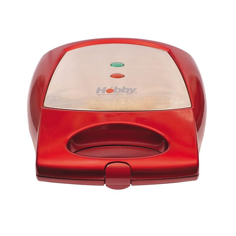 Hobby ST-09 Κόκκινη Κεραμική Σαντουϊτσιέρα