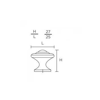 Convex 395-27 Ματ Όρο Πόμολο Επίπλου
