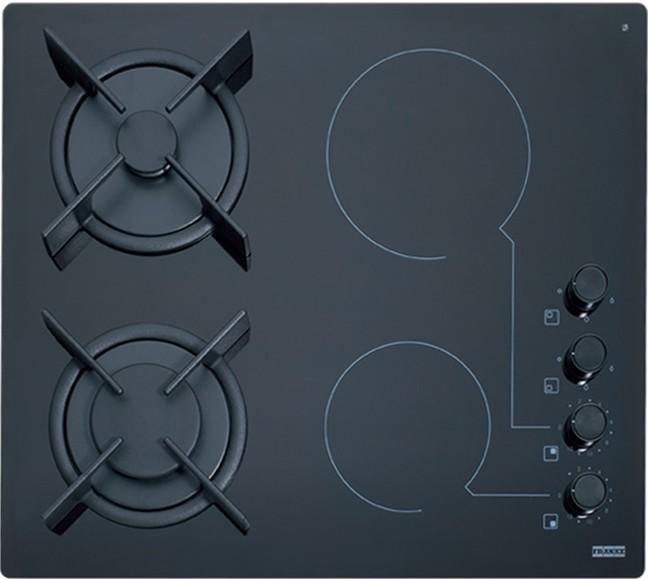 Franke GARDA FHX 604 2G 2C BK C Κεραμική Εστία Μαύρο 60cm