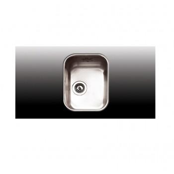 Apell 8430 32x42 cm Inox Λείος Υποκαθήμενος Νεροχύτης Με 1 Γούρνα