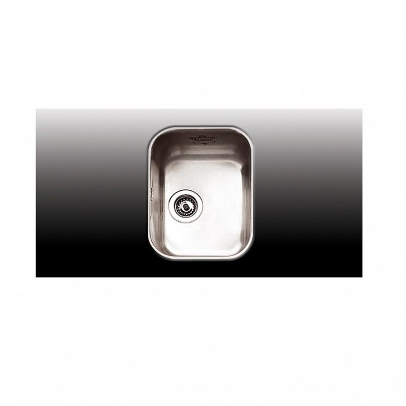 Apell 8430 Ανοξείδωτος Λείος Υποκαθήμενος Νεροχύτης Με 1 Γούρνα 32x42 cm