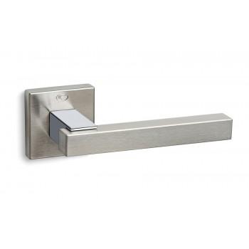 Convex 895 Ματ Νίκελ/Χρώμιο Πόμολο Πόρτας-Ροζέτα