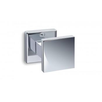 Convex 785 Χρώμιο Πόμολο Πόρτας-Ροζέτα