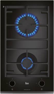 Teka CGW LUX 30.1 2G AI AL CI Κεραμική Εστία Γκαζιού Domino Μπιζουτέ 30cm