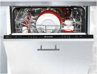 Brandt VH 1505J Πλήρως Εντοιχιζόμενο Πλυντήριο Πιάτων 60cm